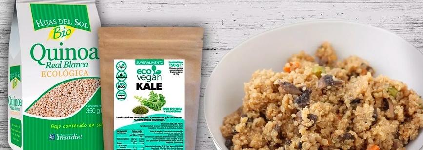 quinoa-con-setas-y-kale-una-deliciosa-receta