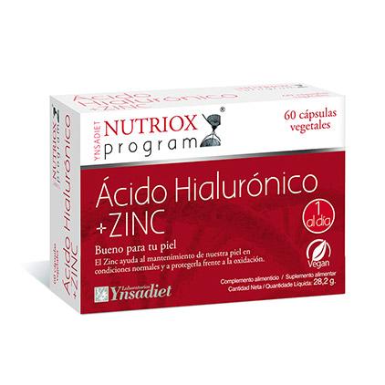 Ácido Hialurónico y Zinc
