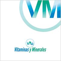 Vitaminas y Minerales marca de complejos vitamínicos