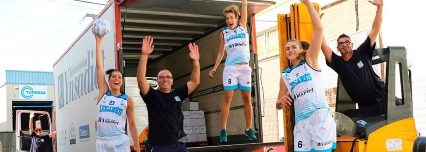 Conocemos a Estela Rubio, capitana del Laboratorios Ynsadiet Leganés.
