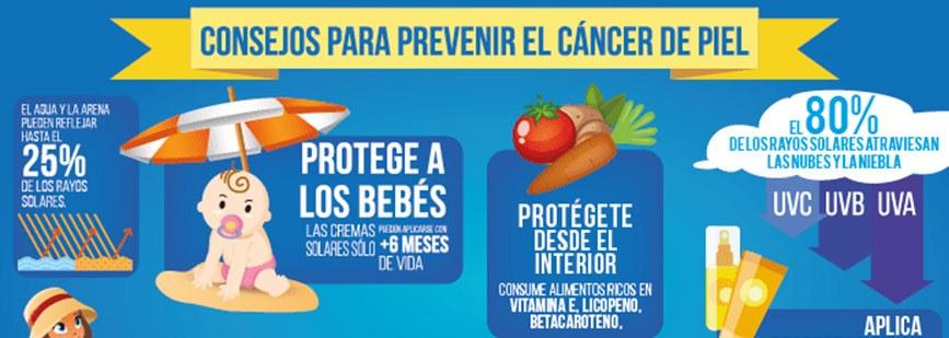 Día Mundial del Cáncer de Piel. En la prevención está la clave.
