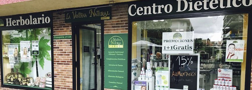 La ventana natural, mucho más que un local especializado en herbodietética.