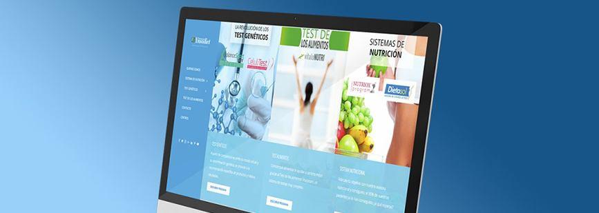 Nueva web de Laboratorios Ynsadiet Servicios.