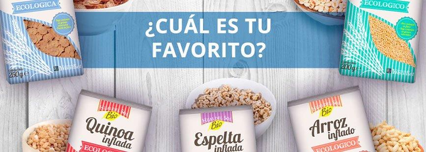 Nuevos cereales bio 'Hijas del Sol'