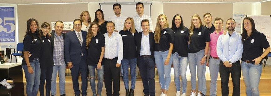 Presentación Oficial del equipo femenino del Club de Baloncesto Leganés.